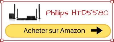 Acheter Philips HTD5580 Pas cher