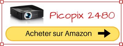 Acheter le pico projecteur ppx 2480 pas cher