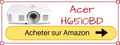 acheter videoprojecteur acer H6510BD