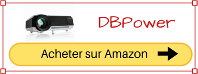 acheter videoprojecteur wifi DBPower pas cher prix