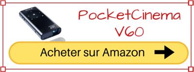 acheter pico projecteur Aiptek PocketCinema V60 pas cher prix