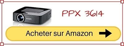 acheter videoprojecteur wifi PPX 3610 pas cher prix