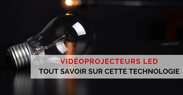 vidéoprojecteur a led