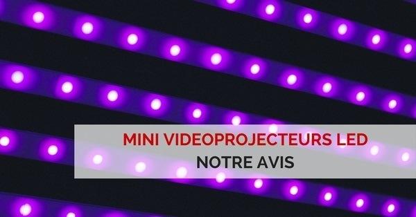 avis mini videoprojecteur led