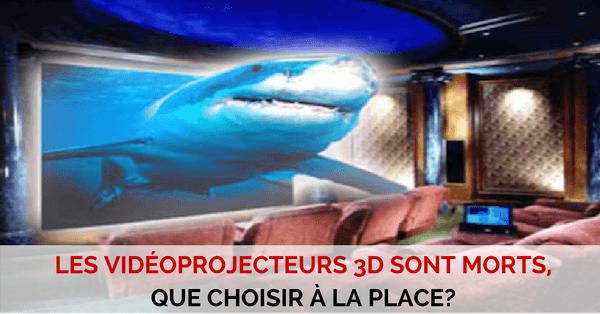 Videoprojecteurs 3D a la place