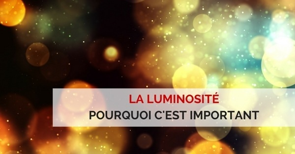 Luminosité videoprojecteur