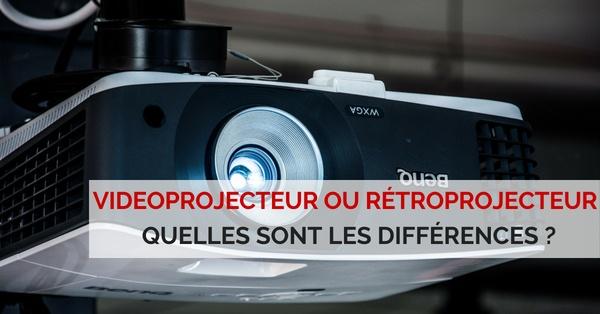 videoprojecteur ou retroprojecteur