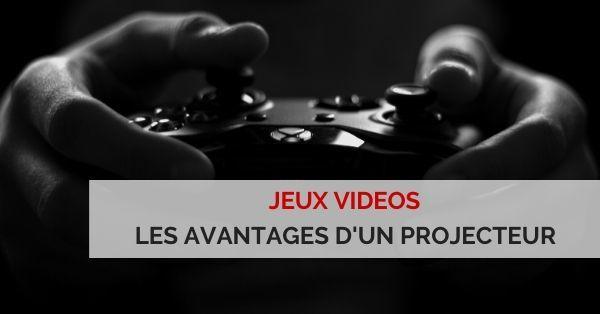 projecteur jeux vidéos